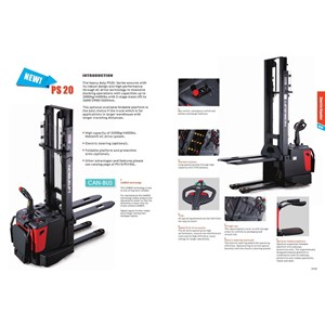 Dari Forklift Electric Stacker Pallet 2