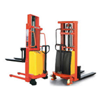 Hydraulic Stacker Semi-electric 1