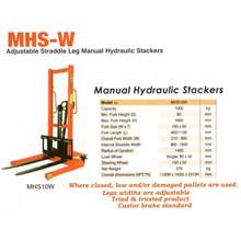 Hydraulic Stacker Manual.