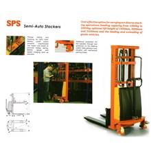 Hydraulic Lift Stacker Pallet untuk Barang.