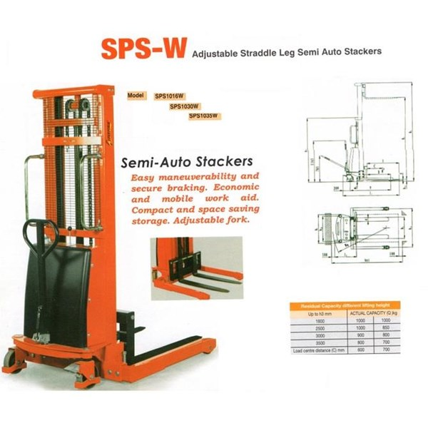 Semi-electric Stacker Merk AMJLift