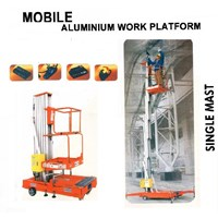 Jual Aerial Work Platform Electric model Dual Mast 2
