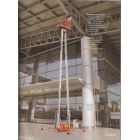 Beli Aerial Work Platform Electric model Dual Mast 4