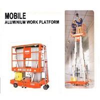 Aerial Work Platform Electric model Dual Mast