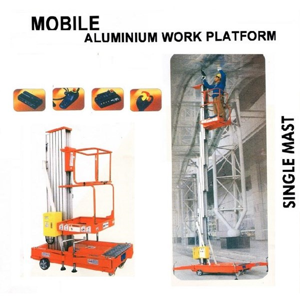 Aerial Work Platform Electric model Dual Mast