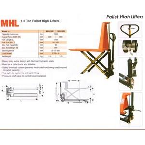 Hydraulic Scissor Lift Pallet Truck.