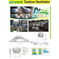 Jual Turbin Ventilator Aluminium dan Stainless Steel Pabrik dan Gudang
