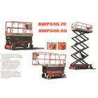 Electric Scissor Lift  With Battery. 1