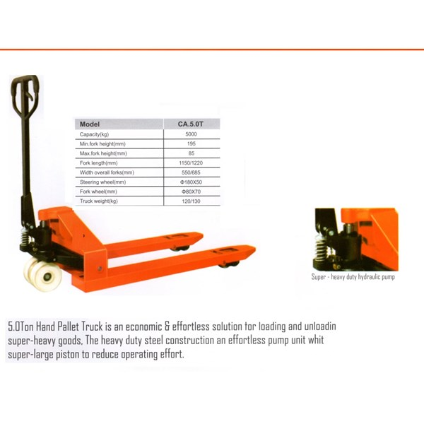 Hydraulic Pallet Truck Hand Lift Truck