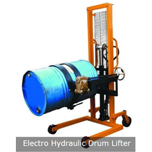 Hydraulic Drum Lifter  Hidrolik Drum Stacker
