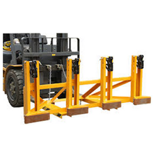 Drum Gripper Joint With Forklift Jakarta.