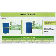 Drum Tipper Joint Forklift.