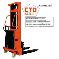 Electric Stacker for Pallet with Battery