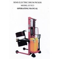 Electric drum Handler Battery.