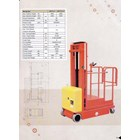 Electric Aerial Order Picker with battery 3