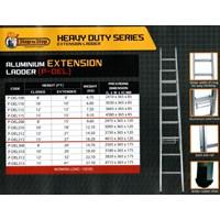 Tangga Aluminium Extension - Aluminium EXTENSION Ladder