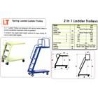 Loaded Ladder Trolley  8