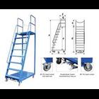 Loaded Ladder Trolley  1