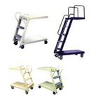 Loaded Ladder Trolley  5