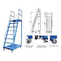 Loaded Ladder Trolley