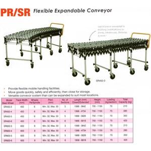 Lift Table CONVEYOR Flexible Manual