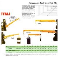Jual Crane Telescopic Attachment Forklift