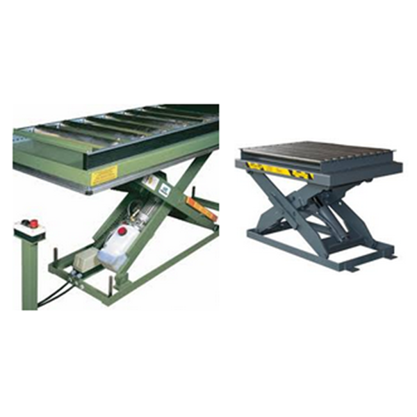 Lift Table Meja Angkat Roller Conveyor