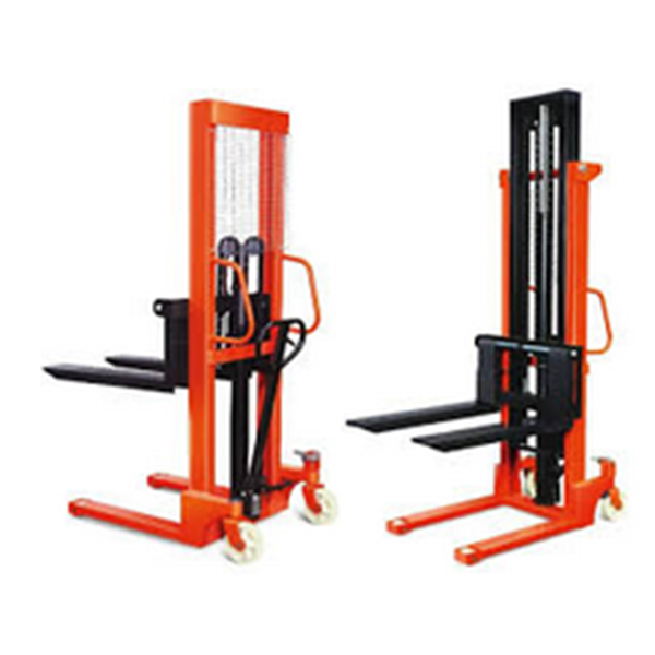 Hydraulic Stacker Manual