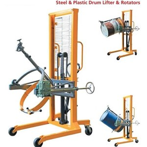 HYDRAULIC DRUM STACKER ROTATOR MANUAL.