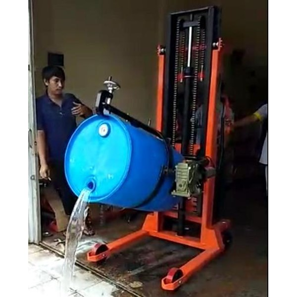HYDRAULIC DRUM STACKER ROTATOR MANUAL