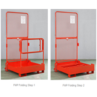 Aerial Work Platform Attachment For Forklift 4