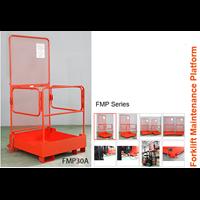 Work Platform Attachment For Forklift