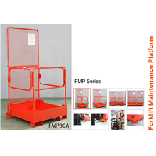Aerial Work Platform Attachment For Forklift