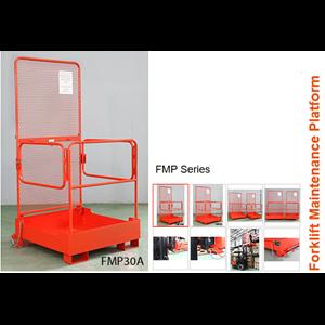 Aerial Work Platform Attachment For Forklift