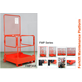 Work Platform Attachment For Forklift
