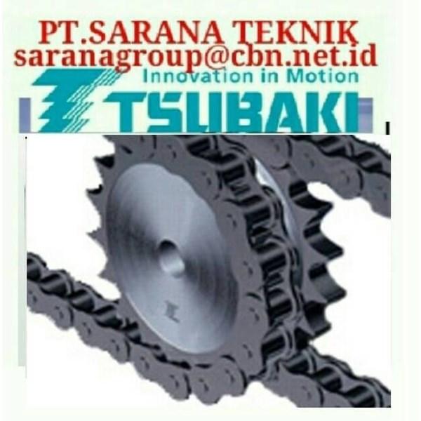 TSUBAKI SPROCKET ROLLER CHAIN RS 40  - AGENT PT. SARANA TEKNIK