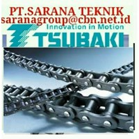 TSUBAKI ROLLER CHAIN STAINLESS STEEL PT.SARANA TEKNIK DISTRIBUTOR