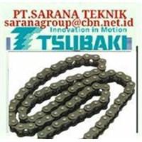 TSUBAKI ROLLER CHAIN STAINLESS STEEL DISTRIBUTOR PT.SARANA TEKNIK