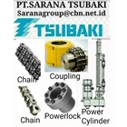TSUBAKI CONVEYOR CHAIN ROLLER COUPLING BACKSTOP POWER LOCK 1