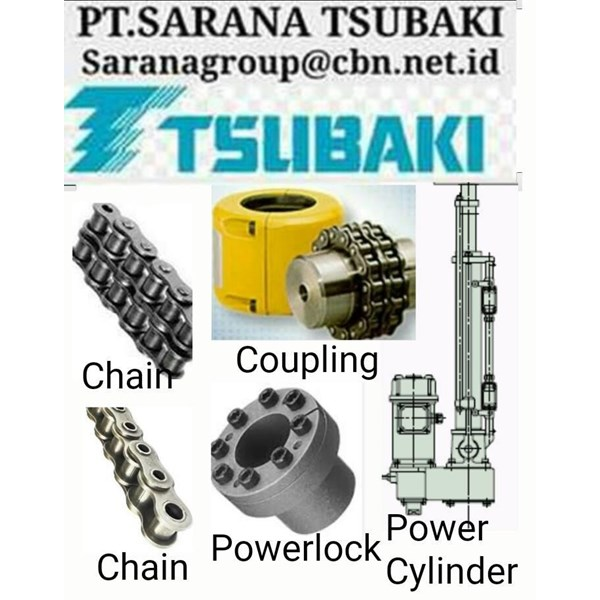 TSUBAKI CONVEYOR CHAIN ROLLER COUPLING BACKSTOP POWER LOCK