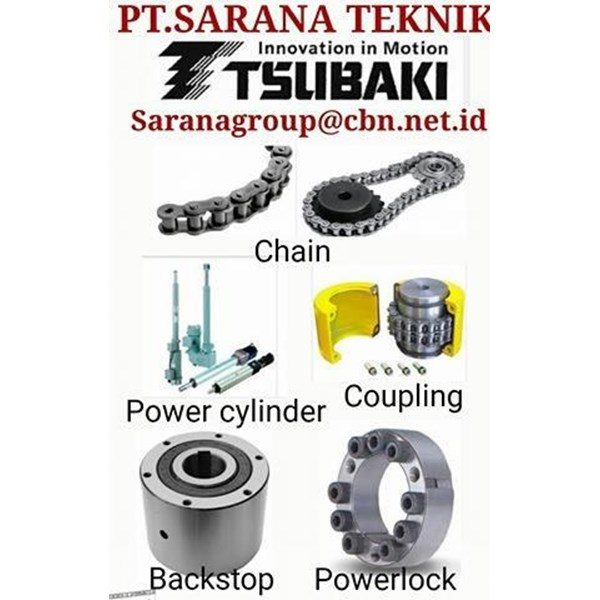 TSUBAKI CONVEYOR CHAIN ROLLER CHAIN PT SARANA TEKNIK POWER LOCK
