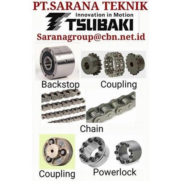 TSUBAKI CHAIN COUPLING ROLLER CHAIN PT SARANA TEKNIK POWER LOCK