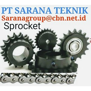 tsubaki GEAR SPROCKET STAINLESS STEEL TYPE A B C PT SARANA TEKNIK