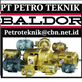 PT PETRO TEKNIK BALDOR MOTOR AC DC DISTRIBUTOR INDONESIA
