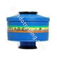 Protector Respirator Full Face Mask Canister 202Abek2 Spasciani 1