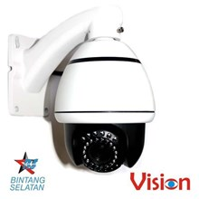 CCTV Kamera Vision 10 x Optical Zoom Speed Dome Infrared Mini CPTZ 005