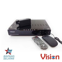 Vision DVR CCTV  4 Channel H264 Vision