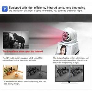 Dari Kamera CCTV IP Kamera Wireless 4 In 1 : Dvr + Alarm + Video Call Robot Vision   7