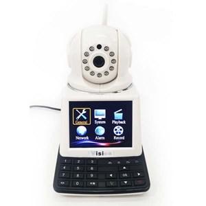 Dari Kamera CCTV IP Kamera Wireless 4 In 1 : Dvr + Alarm + Video Call Robot Vision   6