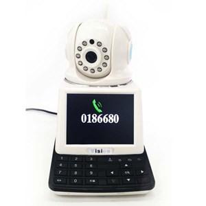 Dari Kamera CCTV IP Kamera Wireless 4 In 1 : Dvr + Alarm + Video Call Robot Vision   3